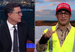 Stephen Colbert, Building the Wall to make Canada Great Again