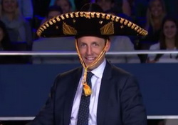 Seth Meyers Moderates Vice Presidential Debate Gone Wild!