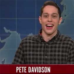 SNL Election spin with Millennial Pete Davidson