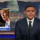 Donald Trump the sore winner, Daily Show