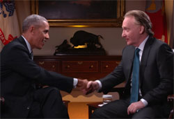 Full Bill Maher interview with President Obama November 4 2016