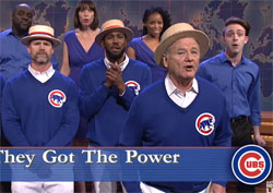 SNL, Bill Murray leads Chicago Cubs in GO CUBS GO