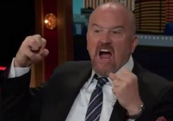 Conan - Louis C K is All In for Hillary, a Tough Mother Who Gets Sh*t Done!