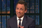 Seth Meyers Shares Thoughts on Donald Trump