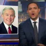 New Attorney General Alabama's Senator Jefferson Beauregard Sessions the Third, Daily Show - Video