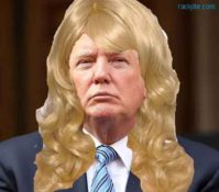Trump is the Ugly Girl the High school voted Prom Queen