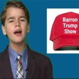 The Baron Trump show, pull my finger dad says!