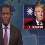 SNL Weekend Update, Taiwan, media finally questions if Trump knows what he's doing?