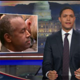 Sleepy Ben Carson to run HUD, Daily Show video