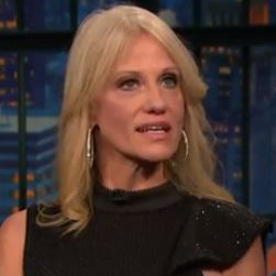 Seth Meyers Interviews Slippery Kellyanne Conway About Trump - Video