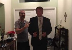 Donald Trump fan Gene Huber, dumbest man in America