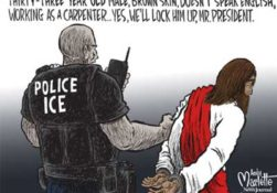 Trump & Republicans find, arrest and deport Jesus Christ