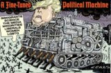 The Fine Tuned Trump Machine