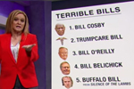 Samantha Bee and the Five Worst Bills of all time Trumpcare number two