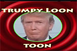 Trumpy Loon Toon, Donald meets Monty Python a the bridge of death