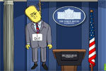 The Simpsons skewers Trump's first 100 days
