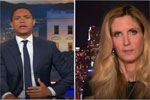 President Obama $400k speech & Ann Coulter Interview, Trevor Noah