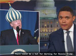 President Trump, a man of many silly hats, Daily Show