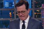 Donald Trump you are a bad president and need to resign, Stephen Colbert