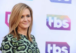 Grand Dame of Late Night Samantha Bee has her say at UPFRONT TBS gala