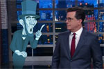 Why was there a Civil War? Stephen Colbert and Abe Lincoln