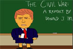 Little Donald Trump's report on Andrew Jackson and the Civil War