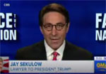Pat Robertson lawyer Jay Sekulow makes lying crystal clear, Daily Show