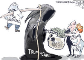 Senate Health Care Bill versus Single Payer