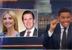 Tiny variation in DNA suggest an enormous difference between Ivanka and Eric, Daily Show