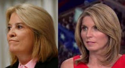 MSNBC top Cable News Network, Nicole Wallace and Greta Van Sustren