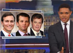 Donald Trump Jr reminds us what an incompetent fool his father is, Daily Show