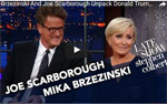 Mornin' Joe Scarborough announces leaving Republican Party, Stephen Colbert