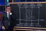 Stephen Colbert diagrams the future for Donald Trump Jr