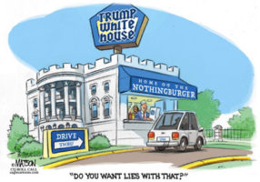 White Castle Trump, You want lies with that?