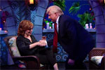 Happy Joy Behar interview with Donald Trump, The President Show