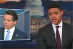 Scaramucci, from The Mooch to the Smooch, Daily Show