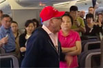 Trump voter removed from China United flight for acting like a Trump voter