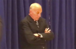 THE image of Trump's meltdown, Chief of Staff General Kelly