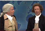 SNL Weekend Update, Washington and Jefferson different than Robert E Lee