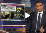 Trevor Noah, Two Thirds of Republicans agree with Trump on Chartlotteville