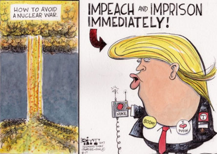 Impeach and Imprison Trump Immediately