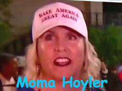 Trumper Hoyler family does not know what the protesters are angry about