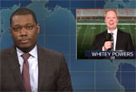 SNL Weekend Update: Robert Lee replaced by Whitey Powers at ESPN Charlottesville Football game