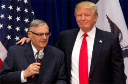 Trump pardons fellow racist Joe Arpaio