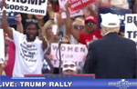 Rachel Maddow outs Donald Trump's lunatic rally supporter Michael the Blackman