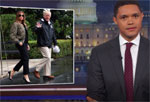 Trevor Noah rightfully defends Melania Trump for the high heels