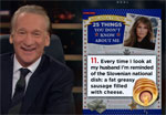 Bill Maher, 25 things you did not know about Melania Trump