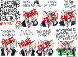 The Republicans Six Big Lies about Universal healthcare