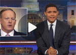 Trevor Noah makes a fool of unemployed Sean Spicer