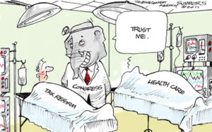 Trust the GOP to write tax reform like healthcare, massive tax breaks for the rich